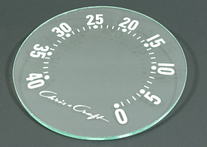chris craft boat marine speed-o-meter glass face